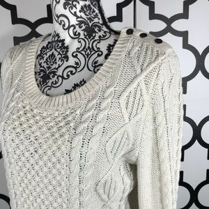 L.O.G.G. H&M Cable-knit Sweater